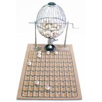 Bingo 100 Bolas Globo Nº2 Víspora Cromado