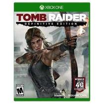 Tomb Raider Edição Definitive X-box Oneoriginal Novo+ Brinde