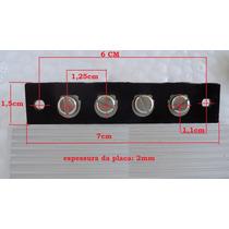 Barra De Terminais P/ Amplificadores E Rádios Antigos