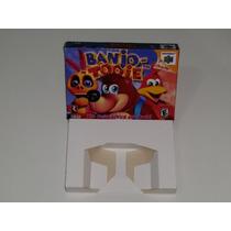 Caixa Banjo Tooie + Berço Incluso, Nintendo 64!!!!