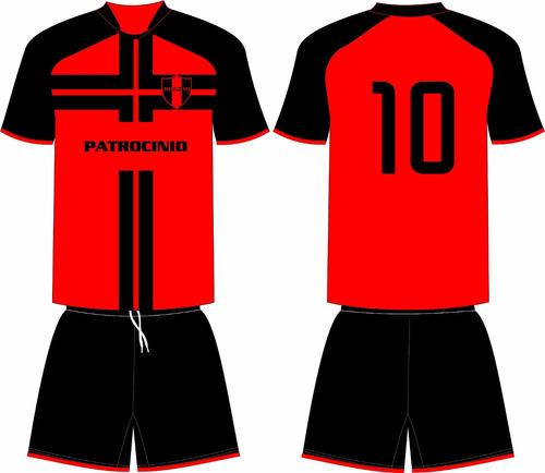 d4505379fa Jogo 12 Camisas 12 Calções Personalizado Futebol Dry Sport