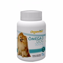 Ômega 3 Dog 15 G Organnact Pet Shop Store