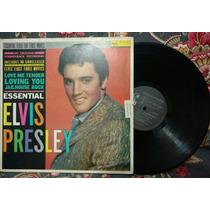 Disco Vinil Elvis Presley Essential Com Hits Dos Filmes
