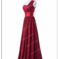 Vestido Longo Festa Madrinha Casamento Pronta Entrega 014