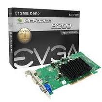 Placa De Video Agp Gforce 6200 512a8n403lr