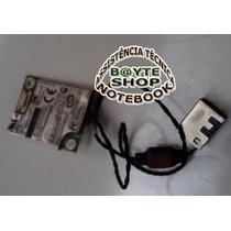 Placa Conector Modem + Rj11 Para Notebook Amazon Pc Amz L81