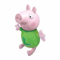 Novo Boneco Da Estrela Peppa Pig George Pig 35 Cm