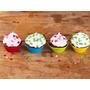 Kit C/36 Formas Silicone Mini Bolos Cupcake Pudim E Gelatina