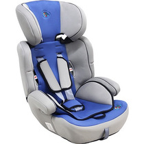 Cadeira Para Automóvel - Azul E Cinza - 9 A 36kg - Baby Styl