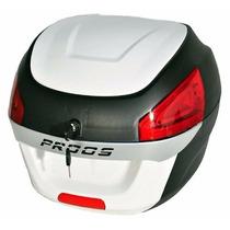 Bau Moto Bauleto 29 Litros Proos Preto E Branco