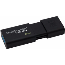 Pen Drive Kingston Datatravaler 100 8gb - Usb 3.0, Dt100g3/8