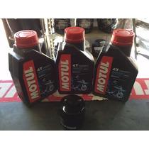 Kit Troca Oleo/filtro Hornet 600/cbr 600f Motul3000 20w-50