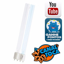 Lâmpada Boyu Fluorescente Azul/branca Pl 24w