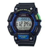 Relógio Casio Stl-s110h Tough Solar Wr 10bar 5alarm Garantia