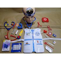 Microscopio Kit Fantasia Hospital Enfermeira Doutor Medico
