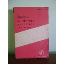 Livro Problemas E Exercícios De Geometria Analítica No Plano