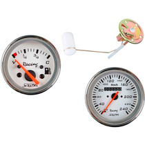 Bóia Elétrica + Ind. Comb + Velocímetro 110mm Wtop Br Fusca