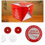 Kit De Embalagens Para Comida Chinesa Com 300 Embalagens
