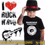Camisetas Mamonas Assassinas Infantil Preta Rock Roll