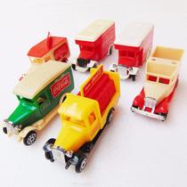 Carrinho Da Coca Cola Calhambeque Caminhão Brinquedo Antigo