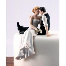 Topo De Bolo Casamento Em Resina Romântico Noivinhos Noivos