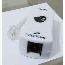 20 Unidades Filtro De Rede Linha Adsl Para Telefone 1 Saída