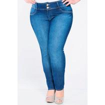 Calça Jeans Feminina Plus Size Tamanho 50 Biotipo