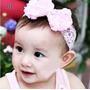 Faixa De Cabelo Para Bebê, Kit Com 5, Faixa De Renda Atacado