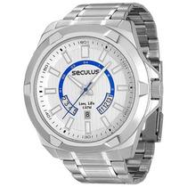 Relógio Seculus Masculino Long Life 23496g0svna1