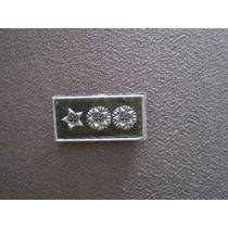 Distintivo Emborrachado De Gola Tenente-coronel - Eb