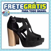 H&m | Sandália De Salto Alto 12cm | Importada Eua | 38 Bra