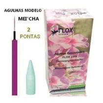 5 Ponteira-agulha Similar Meicha 2 Pontas Micropigmentação