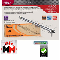 Antena Uhf Digital Externa Hdtv 34 Elementos Castelo M8034