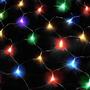 Pisca Rede 320 Lampadas Colorida Com Controle 8 Funções