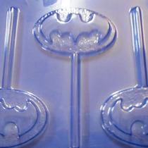 5 Formas De Acetato Para Pirulito De Chocolate Batman