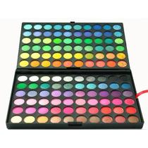 Paleta Sombra 120 Cores Matte/ Shimmer - Pronta Entrega