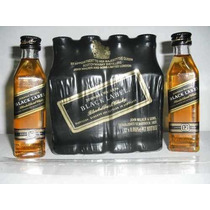Miniatura Whisky Black Label De 50ml Original A Unidade