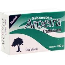Sabonete Aroeira Barra Kit Com 12 Unidades
