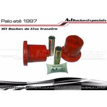 Fiat Palio Até 97 - Kit Buchas Eixo Traseiro Em Poliuretano