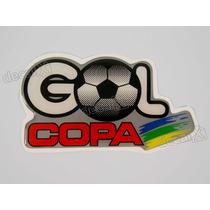 Adesivo Gol Copa 1994 Resinado 6x12 Cms - Decalx