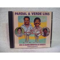 Cd Pardal & Verde Lins- Os Grandes Repentistas Do Nordeste