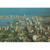227 - Postal Recife, P E - Vista Aerea Panoramica