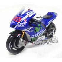 Yamaha Movistar Jorge Lorenzo Nº99 2014 1:18 Maisto Moto Gp