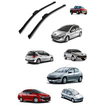 Palheta Limpador Para-brisa Peugeot 206 207 Sedan Sw Hoogar