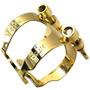 Abraçadeira Rico H Gold - Metal Otto Link Style - Sax Tenor