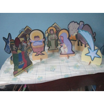 Presepio De Natal Displey De Mesa , Infantil,mdf