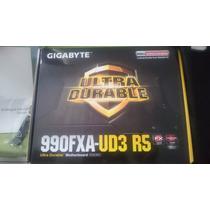 Gigabyte 990fxa-ud3 R5 Placa Mãe Zero