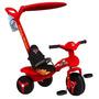 Triciclo Infantil Veloban Carros Haste Removível Bandeirante