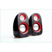 Caixinha De Som Mini Speaker Bdg: 8028 7 Watts Rms Vermelha
