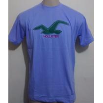 Kit C/5 Camisetas Camisas Gola Redonda Estampadas
